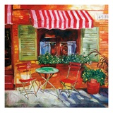 Napa Bistro Reproduction procédé giclée par David Lloyd Glover