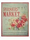 Market Flowers Posters van Mandy Lynne