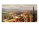 Tuscan Panorama Giclee Print by Vail Oxley