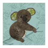 Bashful Bear Poster af Morgan Yamada