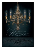 La Maison Rococo Print by Arnie Fisk