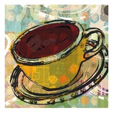 Sketched Coffee Prints by Walter Robertson