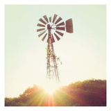 Nostalgic Windmill Prints by Mandy Lynne