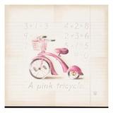 Pink Tricycle Art by Lauren Hamilton