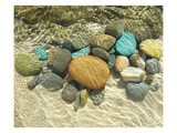 Beach Stones Art by Mark Goodall