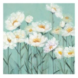 White Poppies 2 Giclee Print by Olivia Long