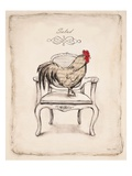 Salud Chick Posters by Emily Adams