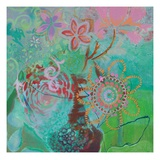 Bohemian Blooms Gicleetryck av Jeanne Wassenaar