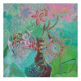 Bohemian Blooms Poster by Jeanne Wassenaar