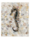 Pearlized Seahorse Giclee Print by Regina-Andrew Design 
