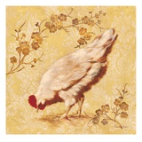 Estate Hen Giclee Print by Laurel Lehman