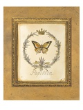 Engraved Butterfly Giclee Print by Kathryn White