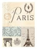 Paris in Memory Affiches par Marco Fabiano