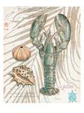 Aqua Lobster Kunstdrucke von Chad Barrett