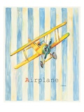 Airplane Premium Giclee Print by Catherine Richards