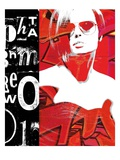 Fashion Graffiti 1 Giclee Print by Evangeline Taylor