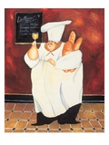 Le Menu Giclee Print by Jennifer Garant
