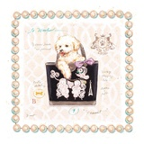 Bichon Puppy Purse Posters by Chad Barrett