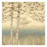 Birch Silhouette 1 Giclee Print by James Wiens