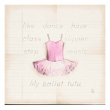 Ballet Tutu Giclee Print by Lauren Hamilton