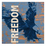 Freedom Reigns Affiches par Morgan Yamada