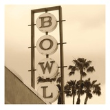 Bowl Sign Giclee Print by Walter Robertson