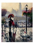 Romantic Embrace Pósters por Brent Heighton