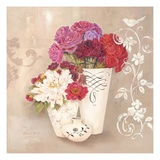 Blossom Scroll Giclee Print by Kathryn White
