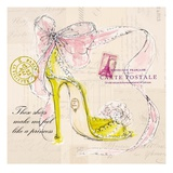 Princess Shoe Posters by Barbara Lindner