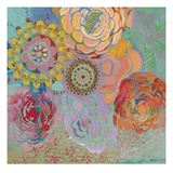 Bohemian Blossoms Gicleetryck av Jeanne Wassenaar