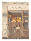 Cheese Shop Errand Giclee Print by Marco Fabiano