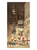 Big City Glow Giclee Print by Paulo Romero