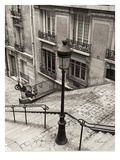 Quatre, Montmartre Giclee Print by Toby Vandenack