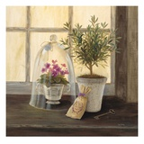 Lavender Window Garden Plakater af Angela Staehling
