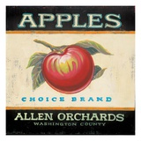 Choice Apples Giclee Print by Angela Staehling