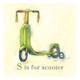 S is for Scooter Prints by Catherine Richards