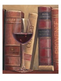 Books of Wine Lámina giclée por Wiens, James