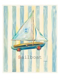Sailboat Print by Catherine Richards