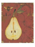 Pear Recollection Premium Giclee Print by  Regina-Andrew Design