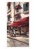 Café Toulouse Plakater af Brent Heighton