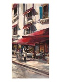 Café Toulouse Premium Giclee Print by Brent Heighton
