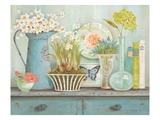 Vintage Collectables Giclee Print by Kathryn White