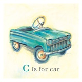 C is for Car Reproduction proc&#233;d&#233; gicl&#233;e par Catherine Richards