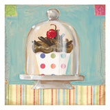 One Chocolate Cupcake Giclee Print by K. Tobin