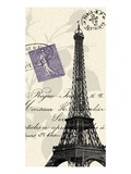 Eiffel Tower Art by  Z Studio