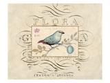 Songbird Etching 1 Kunstdrucke von Chad Barrett