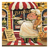 Bread Chef Giclee Print by K. Tobin