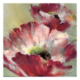 Lush Poppy Giclee Print by Brent Heighton