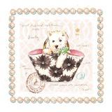 Westie Puppy Purse Kunstdrucke von Chad Barrett