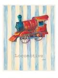 Locomotive Prints by Catherine Richards